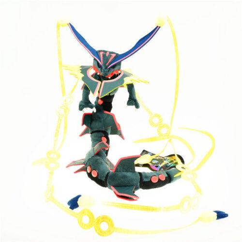 Pokemon Green//Gray Mega Rayquaza Plush Doll Stuffed Toy 34 inch Gift