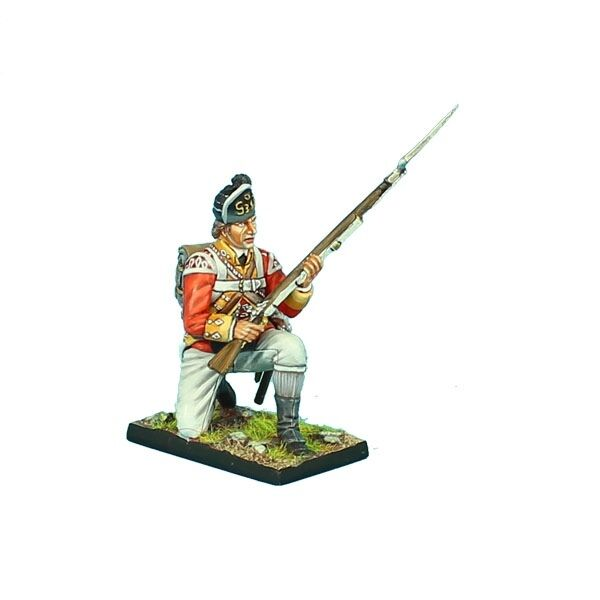 AWI081 British 38th Regt Light Company Kneeling Ready by First Legion