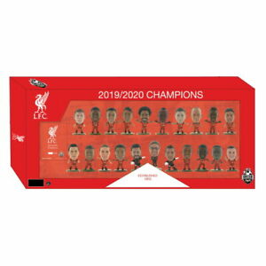 LIVERPOOL 2019-20 PL CHAMPIONS SOCCERSTARZ LIMITED EDITION TEAM PACK 21 PLAYERS