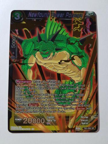Newfound Power Porunga Dragon Ball Super Card Game NM//M TB3-066 SR