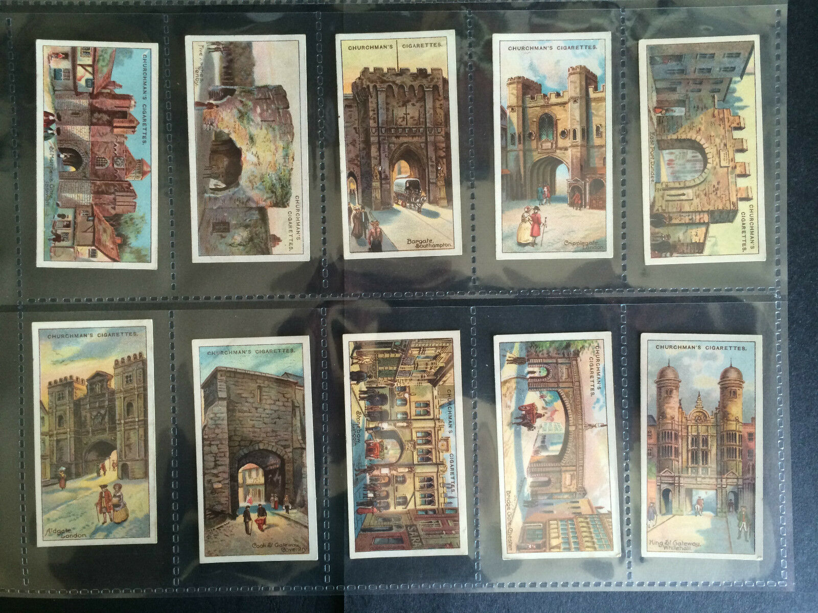 CHURCHMAN G//F CELEBRATED GATEWAYS 1925 ***PICK THE CARDS YOU NEED***