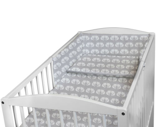 BABY BEDDING SET TO FIT 120x60 COT 2 3 5 6 PC PILLOW DUVET BUMPER MANY DESIGNS