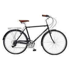 Micargi Roasca V7-m-58-bk City Bike 700c 58 Cm Hi-ten Steel Bike Bicycle Black