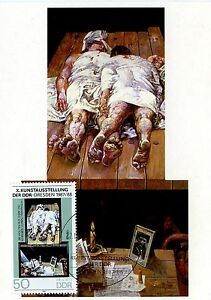 CARTE-POSTALE-MAXIMUM-GERMANY-ALLEMAGNE-BERLIN-ART-1988
