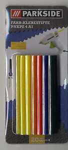 Klebestifte-Klebepistole-Basteln-Holz-Glas-Papier-Textilien-farbig-20-Stuck