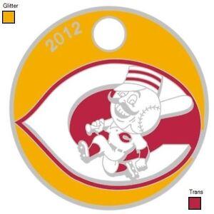Baseball Cincinnati Reds RARE édition limitée pathtag avec paillettes d'or & rouge trans-afficher le titre d`origine VjZn9dbT-07143046-603720138