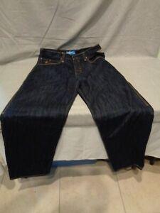 Rocawear Regular Para Hombre 36 X 34 Tela De Jeans Jeans Pantalones Fit Original 46 Ebay