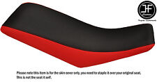 RED & BLACK AUTOMOTIVE VINYL CUSTOM FITS HONDA TRX 400 EX 99-07 SEAT COVER