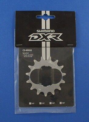 Shimano DXR CS-MX66 Race Sprocket Cog 14T//15T//16T//18T Tooth Cog