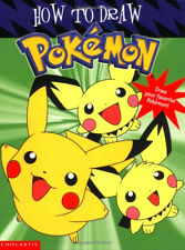How Draw Pokemon Characters Pikachu Kids Learn Drawing Activity Book Paperback