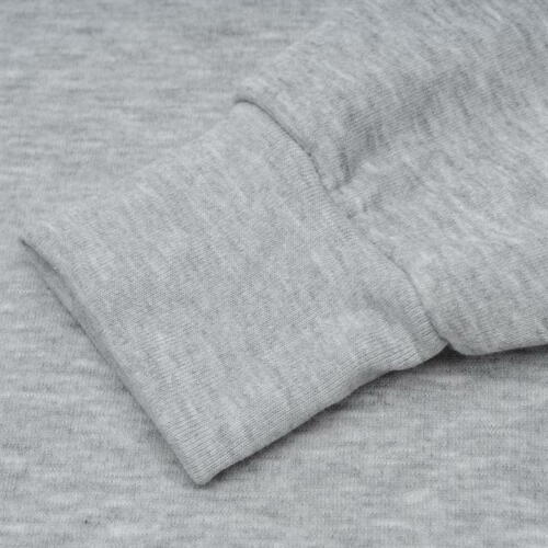 ✅ Slazenger Mens Crew Neck Sweater Sweatshirt Fleece Work Casual Light Grey