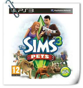 PS3-The-Sims-3-Pets-SONY-PlayStation-Electronic-Arts-Simulation-Games-EA