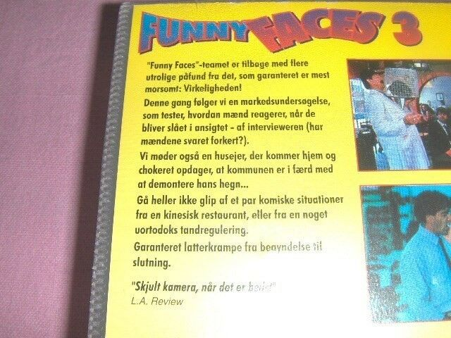 Komedie, VIDEO (VHS): FUNNY FACES 3