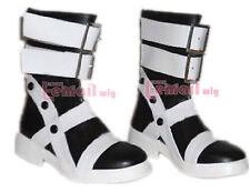 Soul Eater Maka Albarn Anime Black Costume Shoes Cosplay Boots Customized Size