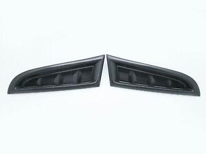 2-Front-Bumper-Side-Vent-Covers-RH-LH-For-2006-2007-Subaru-Impreza-WRX-STI