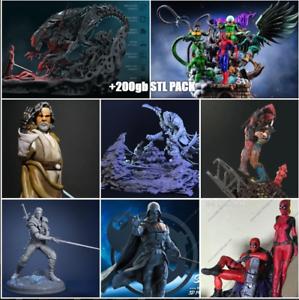 200gb-Stl-Files-For-3D-Print-Sanix-Gambody