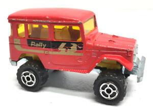 Vintage-Majorette-Diecast-4x4-Toyota-Rally-No-277