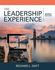 The Leadership Experience by Richard L. Daft (2017, Paperback)