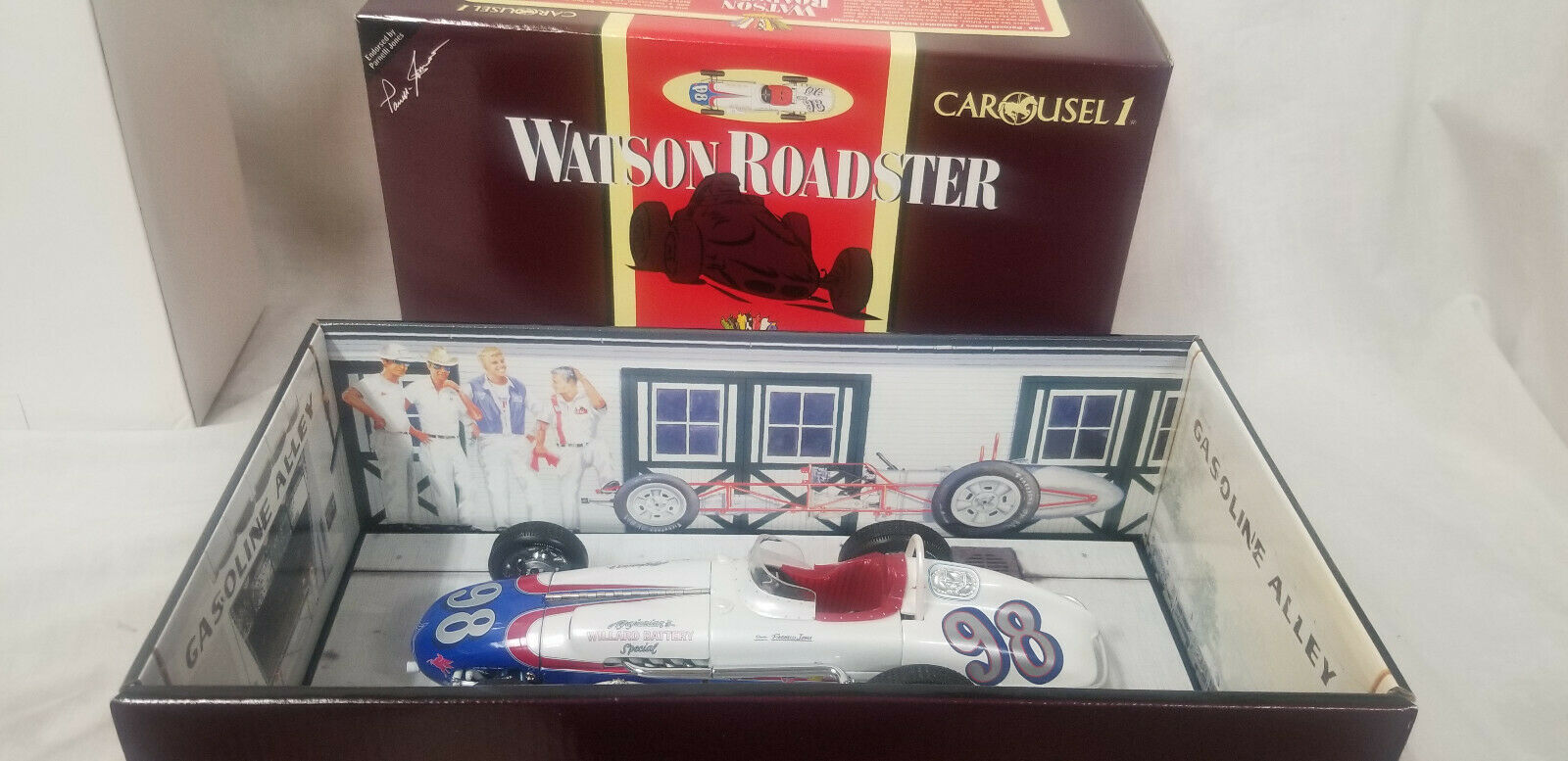 Carousel 1  4403 Winston Roadster '62 Indy 500 Pole Parnell Jones