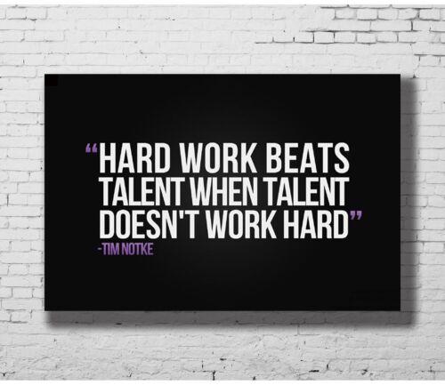 Motivational Quotes Art Hot P-2987 24x36 14x21 40 Poster HARK WORK