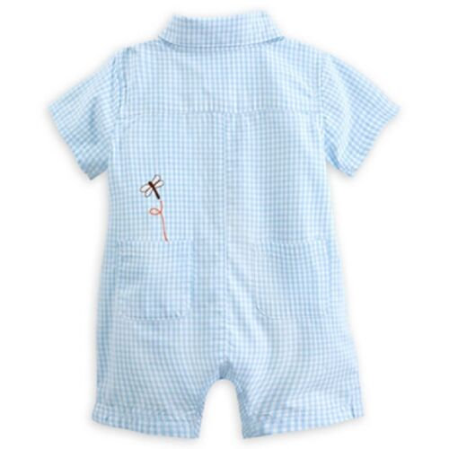 DISNEY STORE WINNIE TIGGER CLASSIC WOVEN ROMPER BABY 0//3 MOS ~ SO ADORABLE NWT