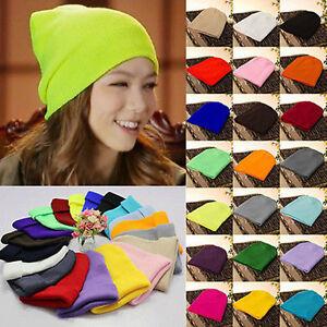 Men-039-s-Women-Beanie-Knit-Ski-Cap-Hip-Hop-Blank-Color-Winter-Warm-Unisex-Wool-Hat1