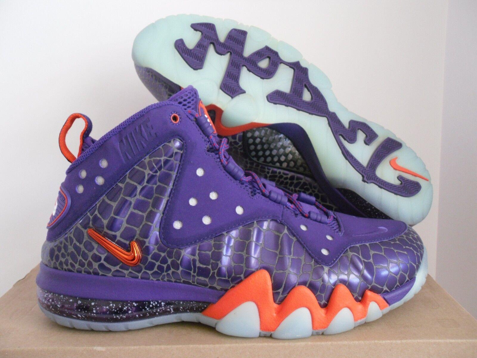 nike barkley posite sz max gericht purple-team orange sz posite 7.5 [555097-581] efd8f5