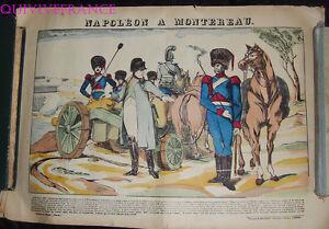 Napoleon A Montereau - Image D'epinal Pellerin - Napoleon