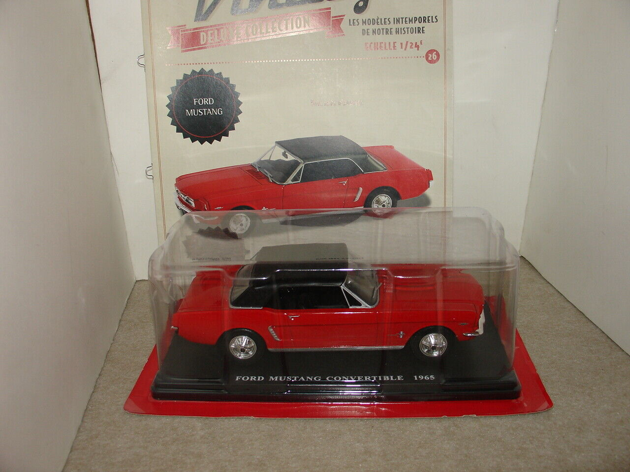 AUTO VINTAGE  N°26 FORD MUSTANG MUSTANG MUSTANG 256c42
