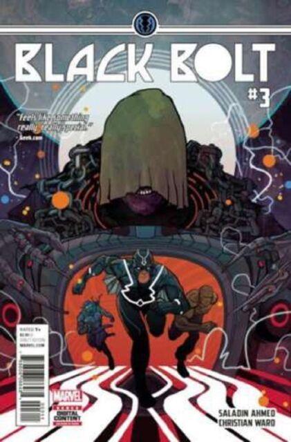 Black Bolt #3 Marvel Comics 1st Print 2017 unread NM