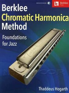 Berklee-Chromatic-Harmonica-Method-Jazz-Sheet-Music-Book-Audio-SAME-DAY-DISPATCH
