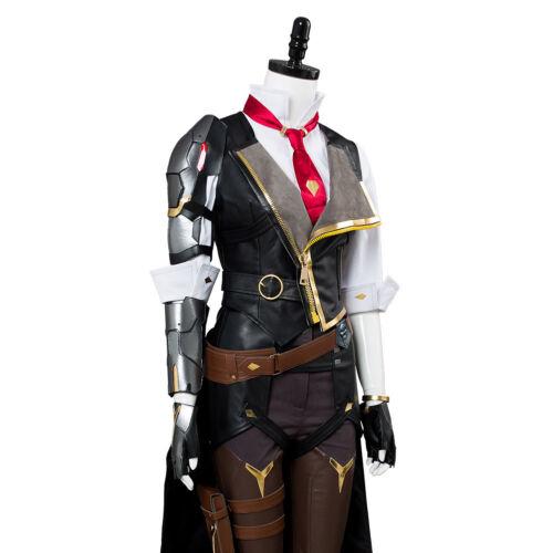 OW Overwatch Ashe Elizabeth Caledonia Cowboy Gunner Cosplay Costume Full Set