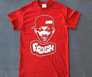 Fresh Prince T Shirt 4 Retro Air Jordan Future Cherry Red