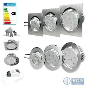 Lot-1-30-LED-spot-encastre-encastrable-plafond-plafonnier-ampoule-LED-3W-5W-9W