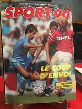 Sport 90 -Magazine - N°44, 1989 - Standard de Liège, Nico Claesen, Guy Hellers