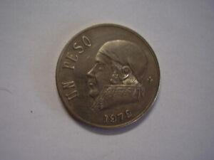 Mexico 1972 One Peso coin