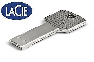 Metal   Key Design LaCie IamAkey USB Flash Drive Disc 64 GB Waterproof
