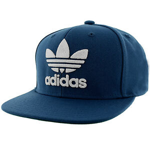 812456ce04a adidas Collegiate Navy ORI Trefoil Chain Snapback Hat An7697 for sale  online
