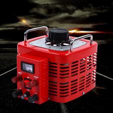 Ac 110v Enclosed Adjustable Variac Transformer Contact Voltage Regulator 3kva Us