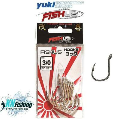 YUKI 3 BIG GAME STAINLESS STEEL SOLID RING TUNA HOOKS FOR SEA BOAT FISHING RIGS