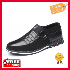 2020 genuine leather men casual shoes brand mens loafers