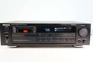 Kenwood-KX-7030-Tapedeck-Kassettendeck-3-Motors-3-Kopf-gecheckt-Dolby-B-C-HX-Pro
