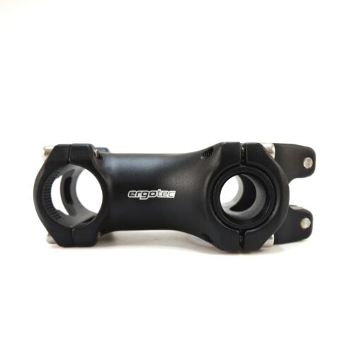 Ergotec  Adjustable Bike Bicycle Stem 28.6 x 80mm handlebar clamp 25.4 mm Black