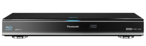 1 of 1 - Panasonic DMR-BWT700 Blu-Ray & DVD Recorder 320GB HDD Twin Freeview+ HD Tuner