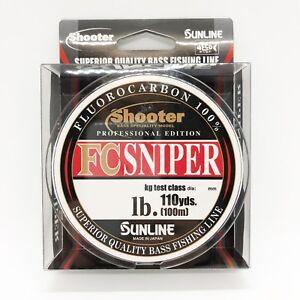 Fluorocarbon Line 300m SUNLINE Shooter FC SNIPER 330yds