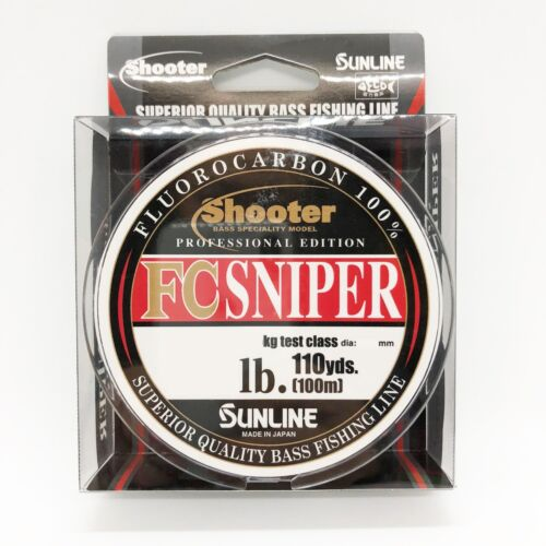 Sunline Shooter FC Sniper Fluorocabon Linie Select lb Länge