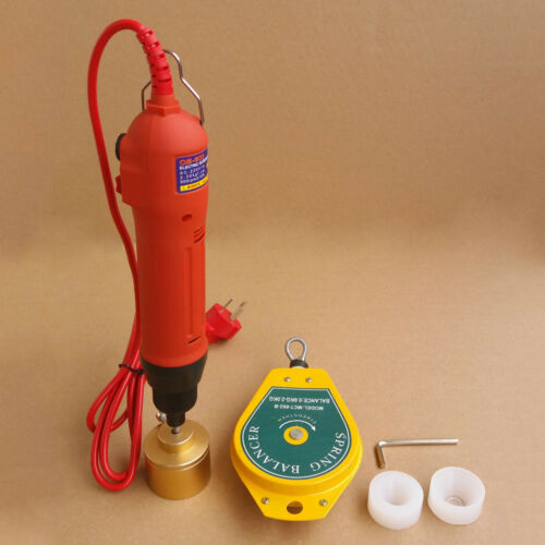 NEW Handheld Electric Bottle Capping Machine Screw Capper Sealing Bottle 110V US