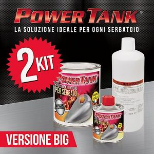 2 Power Tank trattamento rigenerazione serbatoio big  Più economico di tankerite