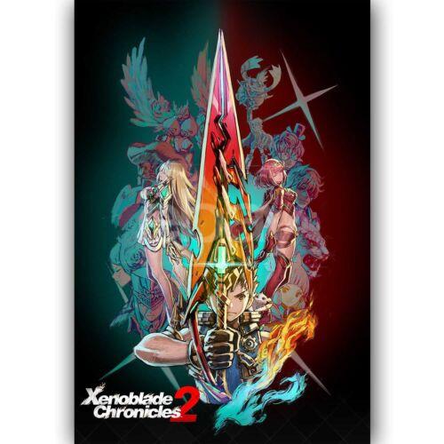 New Custom Silk Poster Wall Decor Xenoblade Chronicles 2
