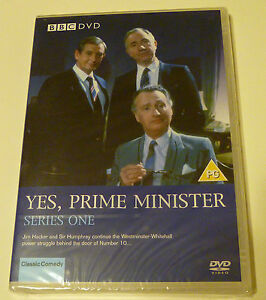 Yes-Prime-Minister-Series-1-Complete-DVD-2004-New-amp-Sealed